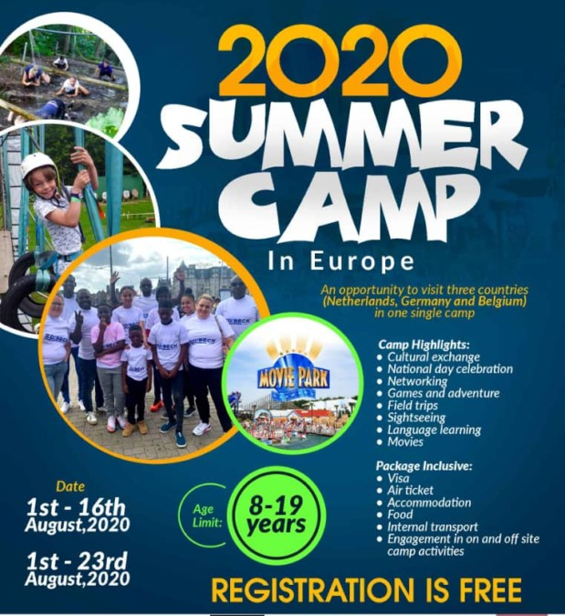 2020 SUMMER CAMP -Edibeck Consult